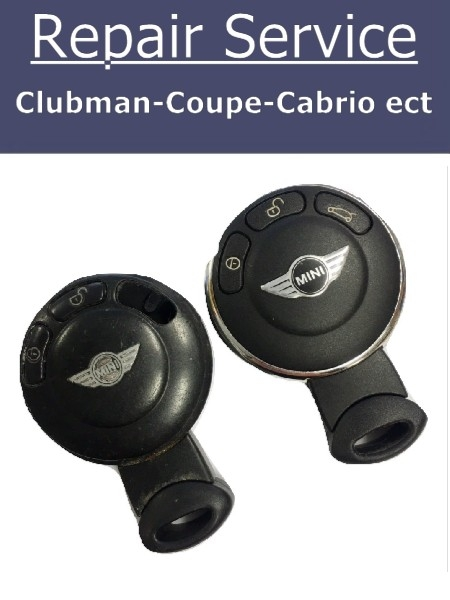 Key Repair Service - Clubman Coupe Cabrio Mini