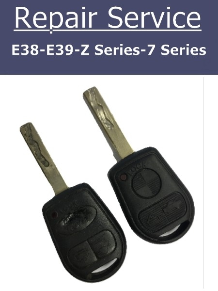 BMW E38 E39 Z Series 7 Series Key Repair Service