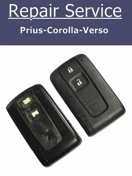 Key Fob Repair Service for Toyota Prius, Corolla and Verso